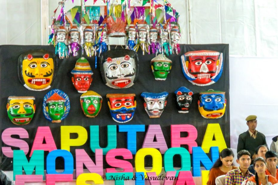 Saputara Monsoon Festival Masks
