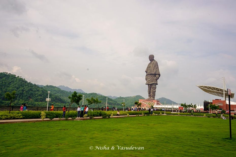 The Lawns, Sardar Patel Statue of Unity