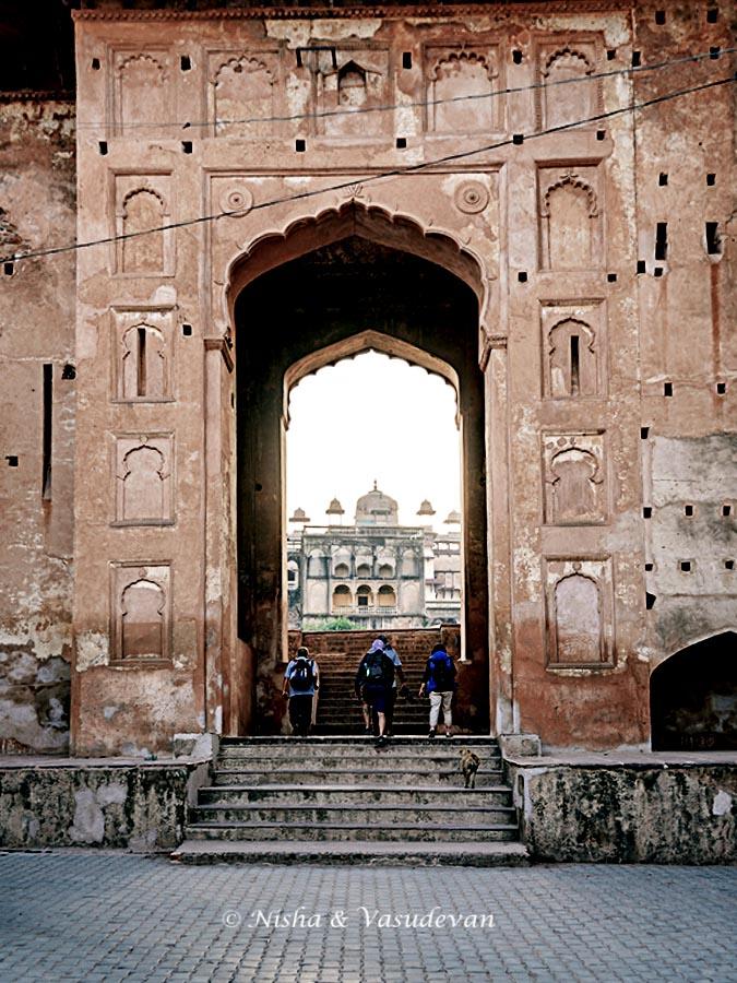 Orchha Fort Complex Main entrance