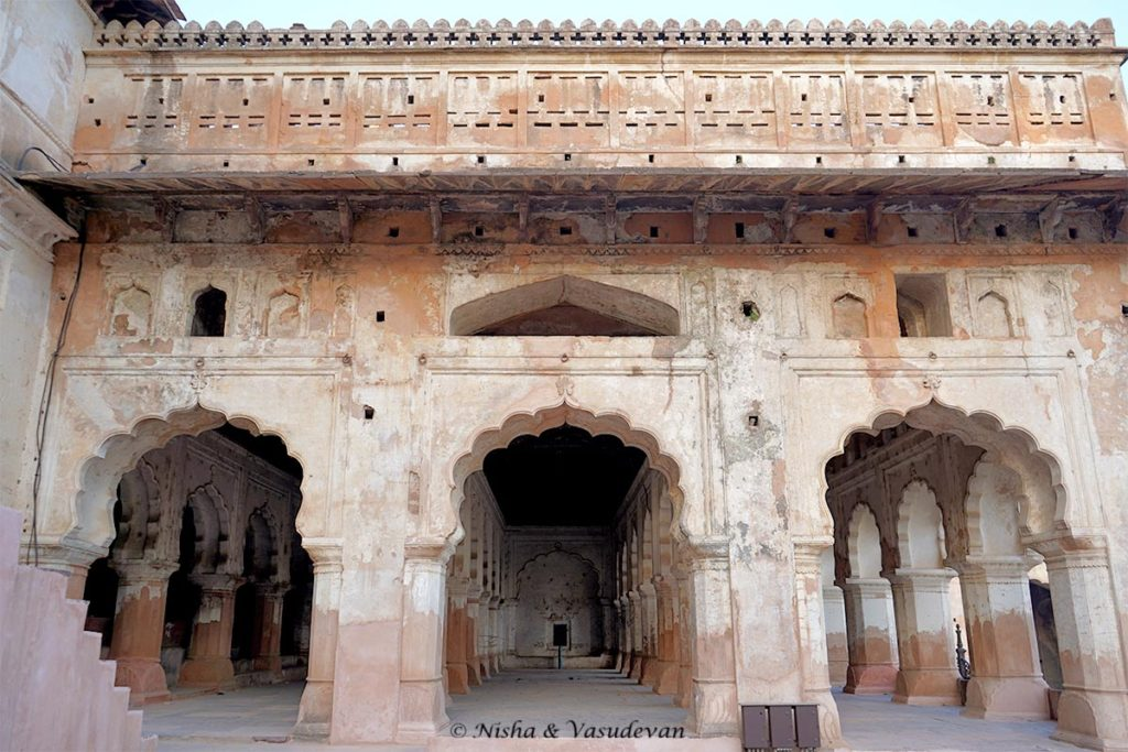 Orchha Fort Darbar-e-aam