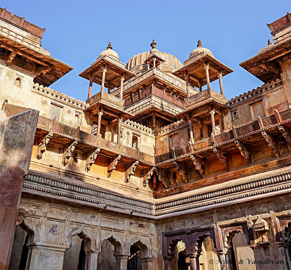 Jahangir Mahal, Orchha Fort Complex Madhya Pradesh