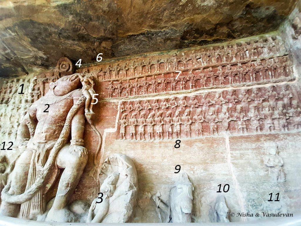 Udayagiri Caves Madhya Pradesh Cave 5 Varaha Avatar