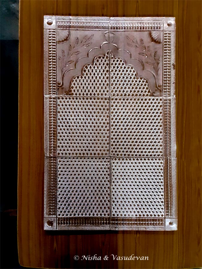 Crystal Glass tile tajul masjid the biggest mosque in india