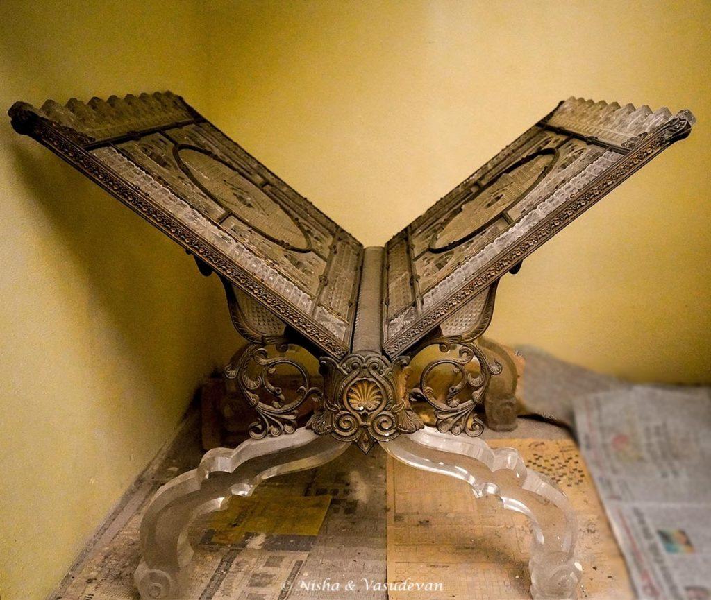 tajul masajid Crystal Book stand