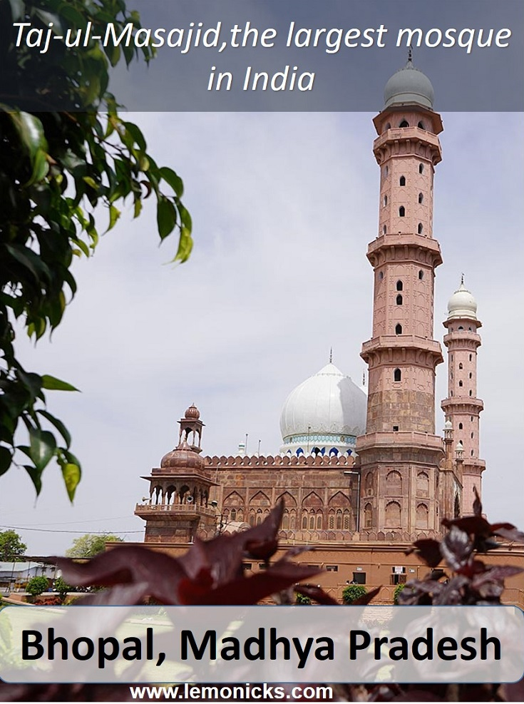 Tajulmasajid , Indias biggest masjid
