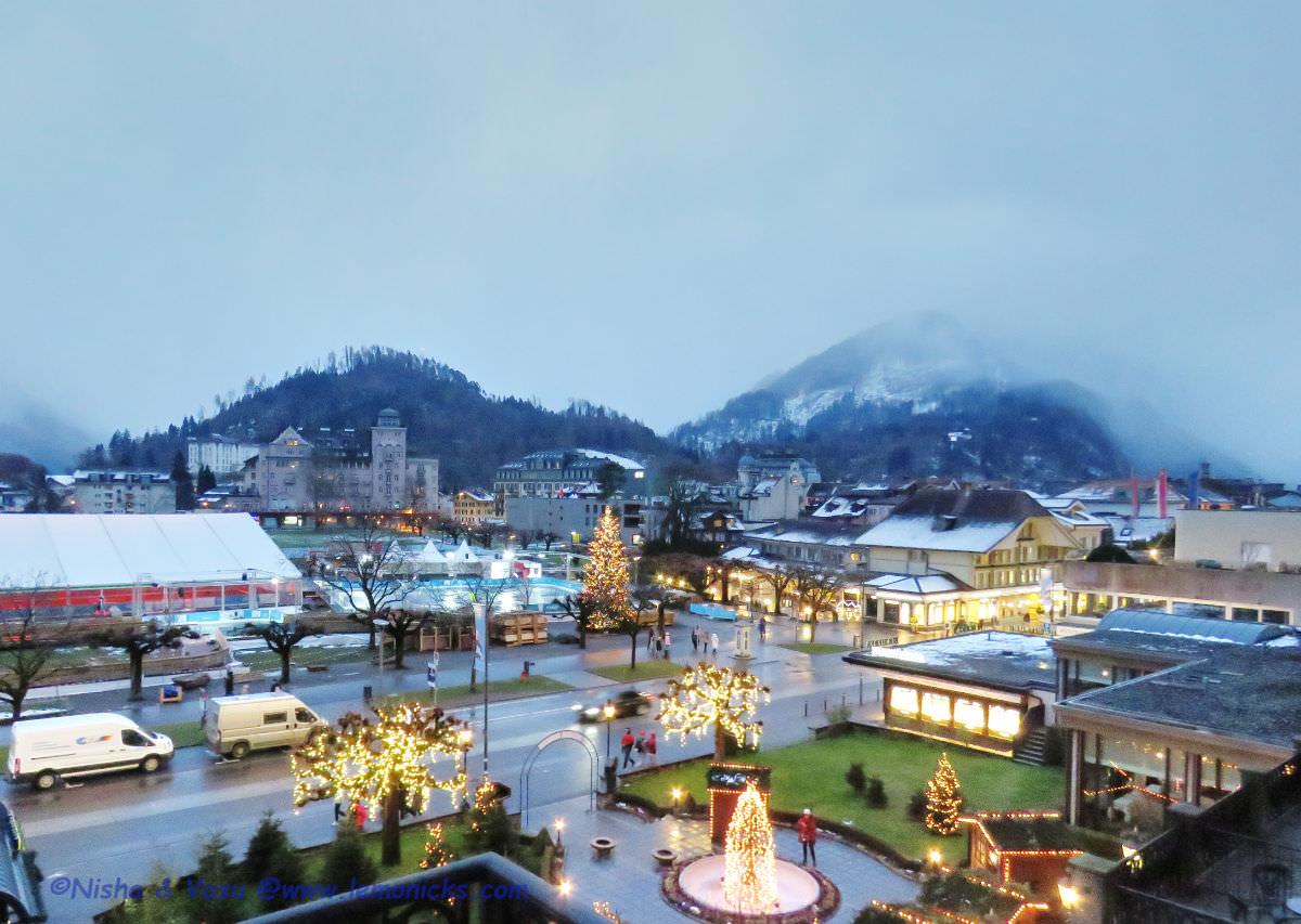 christmas in Switzerland: Interlaken @www.lemonicks.com