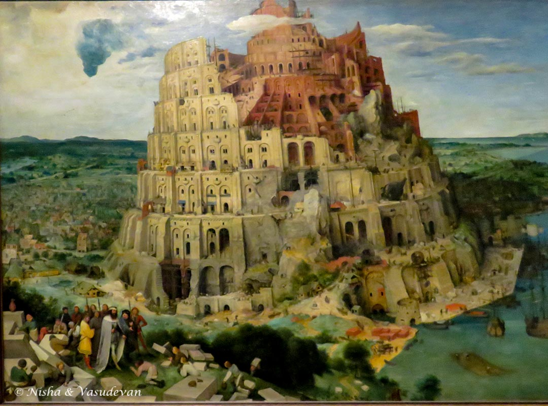 3 days vienna itinerary tower of babel (museum of historic art)