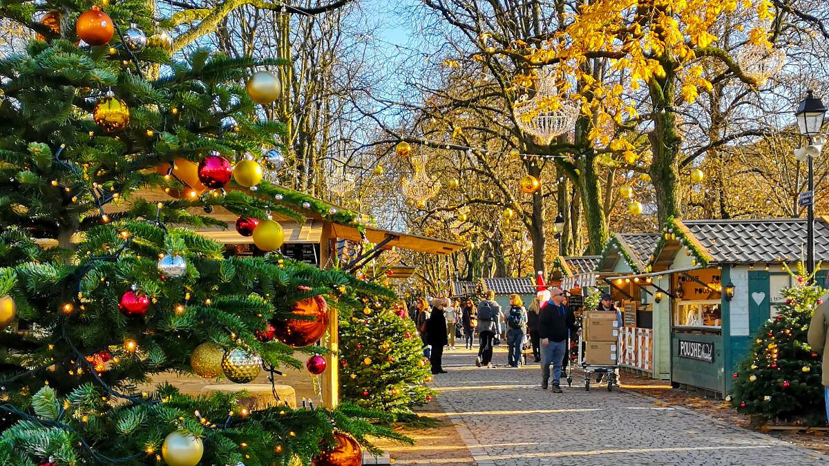 Christmas market in Geneva: