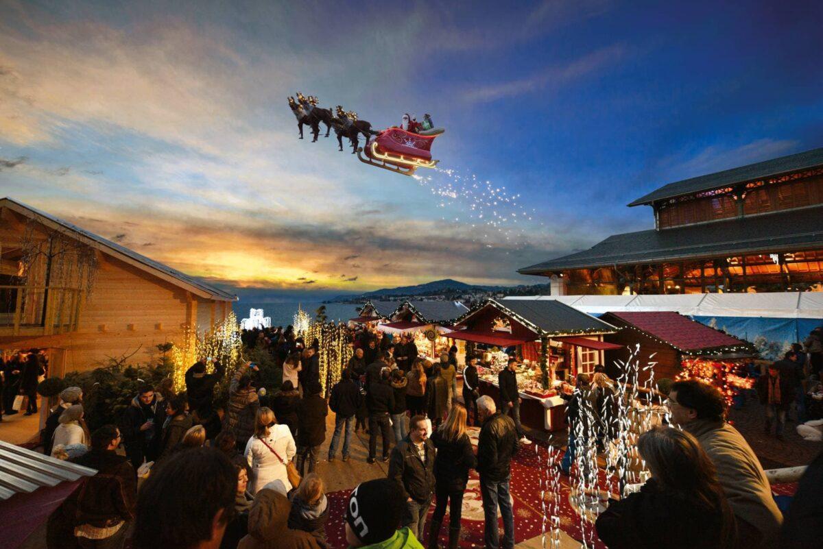Montreux Marche de Noel: Christmas in Switzerland