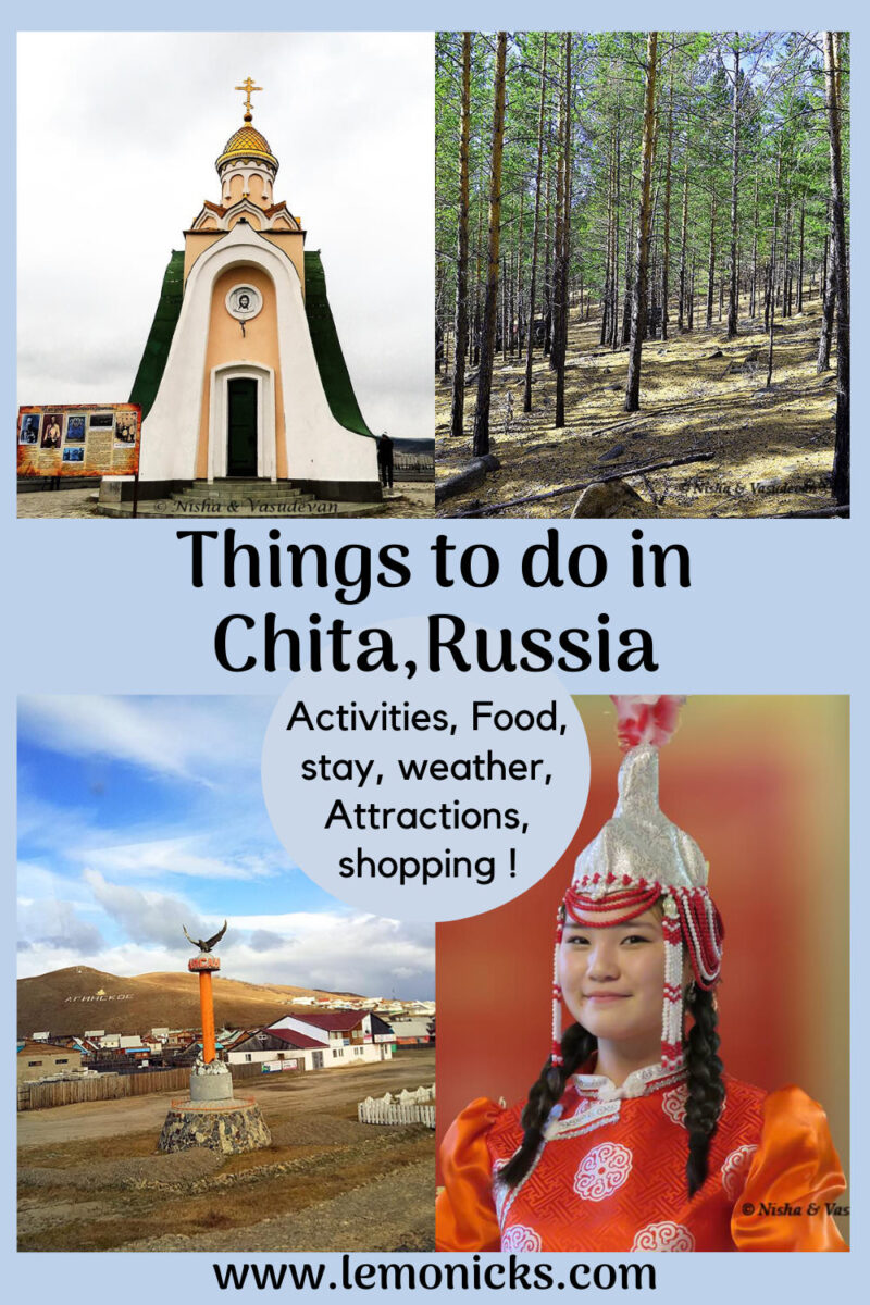 Top things to do in Chita siberia