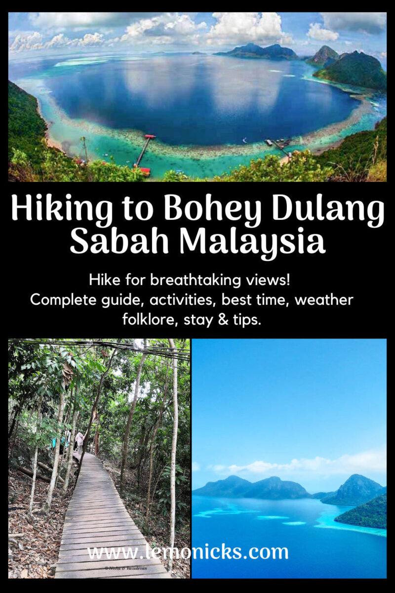 PIN Hiking guide to Bohey Dulang @www.lemonicks.com